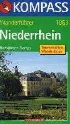 WB1063 Niederrhein 9783854918547  Kompass Wanderführer  Wandelgidsen Niederrhein, Ruhrgebied, Keulen