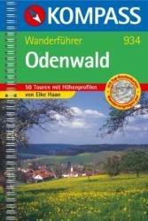 WB934  Odenwald-Bergstrasse 9783854918622  Kompass Wanderführer  Wandelgidsen Hessen