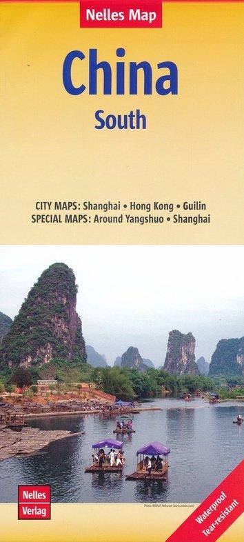 China 04  Southern China | wegenkaart - overzichtskaart 1:1.750.000 9783865740960  Nelles Nelles Maps  Landkaarten en wegenkaarten China (Tibet: zie Himalaya)