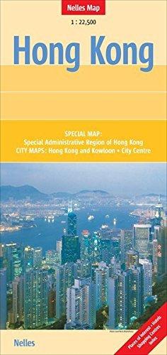 Hongkong 1:22.500 9783865742711  Nelles Nelles Maps  Stadsplattegronden China (Tibet: zie Himalaya)