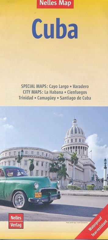 Cuba | wegenkaart - overzichtskaart 1:775.000 9783865745330  Nelles Nelles Maps  Landkaarten en wegenkaarten Cuba