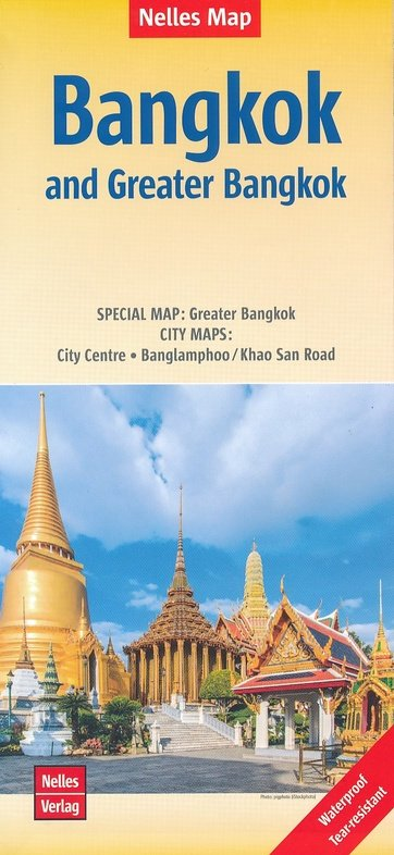 Bangkok Map 9783865745590  Nelles Nelles Maps  Stadsplattegronden Thailand