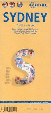 Sydney 1:7.000 / 15.000   stadsplattegrond 9783866093133  Berndtson / Borch   Stadsplattegronden Australië
