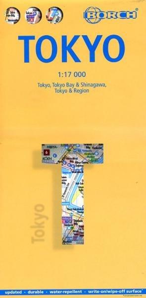 Tokyo Citymap 1:17.000   stadsplattegrond 9783866093300  Berndtson / Borch   Stadsplattegronden Japan