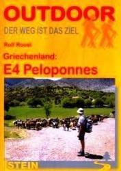 Griechenland: E4 Peloponnes | wandelgids (Duitstalig) 9783866862210  Conrad Stein Verlag Outdoor - Der Weg ist das Ziel  Meerdaagse wandelroutes, Wandelgidsen Peloponnesos