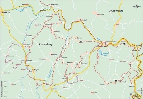 Mullerthal Trail (Luxemburg) | wandelgids (Duitstalig) 9783866865426  Conrad Stein Verlag Outdoor - Der Weg ist das Ziel  Meerdaagse wandelroutes, Wandelgidsen Luxemburg