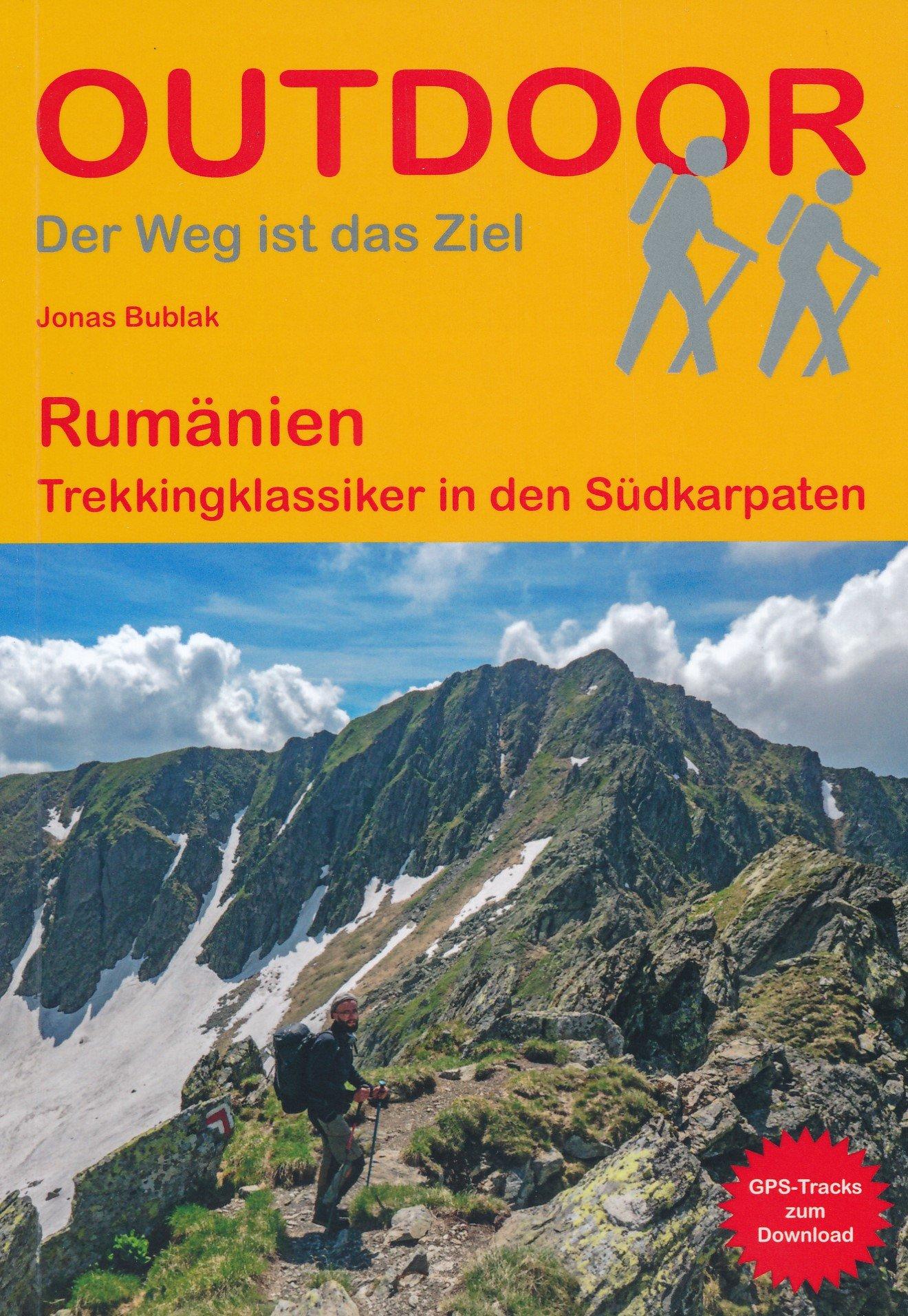 Rumänien  (418) | wandelgids (Duitstalig) 9783866865709  Conrad Stein Verlag Outdoor - Der Weg ist das Ziel  Meerdaagse wandelroutes, Wandelgidsen Roemenië, Moldavië