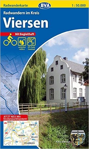 Kreis Viersen, fietskaart 1:50.000 9783870736972  ADFC / BVA   Fietskaarten Niederrhein