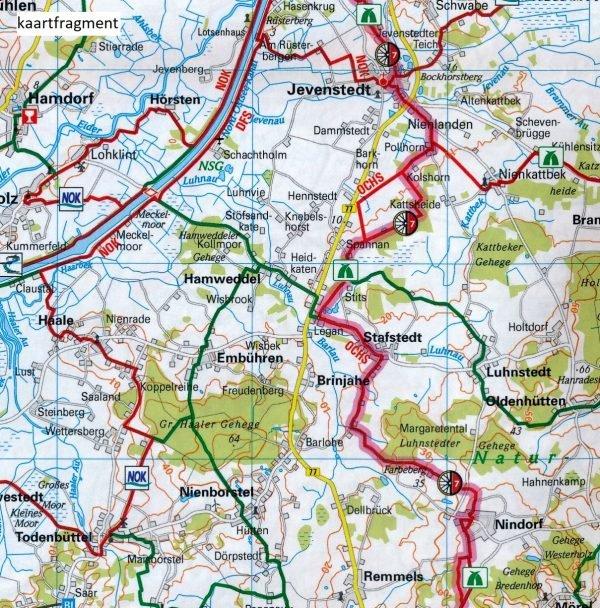 ADFC-02 Holstein/Hamburg 9783870738242  ADFC / BVA Radtourenkarten 1:150.000  Fietskaarten Schleswig-Holstein, Hamburg, Niedersachsen