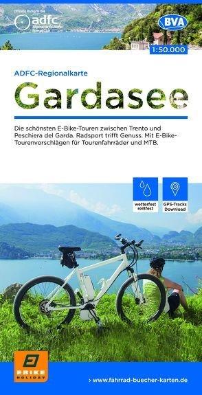 ADFC-Regionalkarte Gardasee 1:50.000 9783870738594  ADFC / BVA   Fietskaarten Gardameer