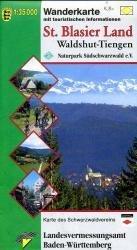 WBL St. Blasier Land Waldshut-Tiengen 1:35.000 9783890217079  LVA BW   Wandelkaarten Baden-Württemberg, Zwarte Woud