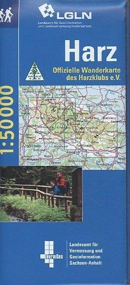 WL18  NP Harz 1:50.000 / Set mit 2 Karten 9783894356699  LVA Niedersachsen TK 50 NP 1:50.000  Wandelkaarten Harz