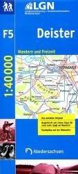 F5 Deister 1:40.000 9783894359942  LVA Niedersachsen   Wandelkaarten Hannover, Weserbergland