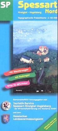 SP Spessart Nord 1:50.000 9783894463120  LVA Hessen Wandelkaart Hessen  Wandelkaarten Odenwald, Spessart en Rhön
