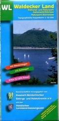 WL   Waldecker Land 1:50.000 9783894463205  LVA Hessen Wandelkaart Hessen  Wandelkaarten Hessen