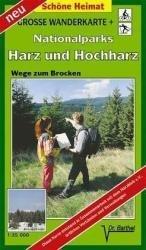 Nationalparks Harz und Hochharz 1:35.000 9783895910678  Doktor Barthel Wander- und Radwanderkarten Wandelkaarten Harz  Wandelkaarten Harz