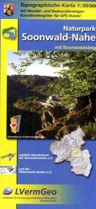 Der Soonwald und Nahe 9783896373007  LVA Rheinland-Pfalz SK 50 W 1:50.000  Wandelkaarten Eifel, Moezel, Rheinland-Pfalz