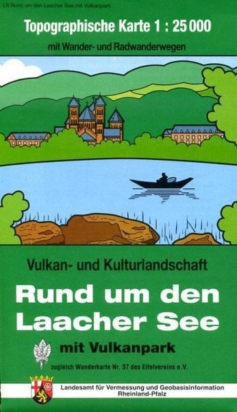 EV-37  Rund um den Laacher See | wandelkaart 1:25.000 9783896373359  Eifelverein Wandelkaarten Eifel  Wandelkaarten Eifel, Moezel, Rheinland-Pfalz