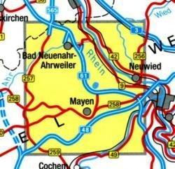 EV-41   Vulkanpark Laacher See 1:50.000 9783896373502  Eifelverein Wandelkaarten Eifel  Wandelkaarten Eifel, Moezel, Rheinland-Pfalz