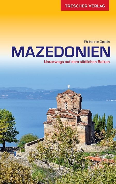 Mazedonien (Macedonië)   reisgids 9783897944329  Trescher Verlag   Reisgidsen Servië, Bosnië-Hercegovina, Macedonië, Kosovo, Montenegro