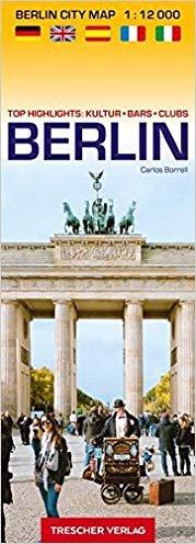 Berlin Cool City Map | stadsplattegrond Berlijn 9783897944473  Trescher Verlag   Stadsplattegronden Berlijn