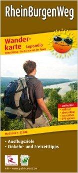 Rheinburgenweg 9783899206494  Publicpress Wandelkaarten - mit der Sonne  Meerdaagse wandelroutes, Wandelkaarten Eifel, Moezel, Rheinland-Pfalz