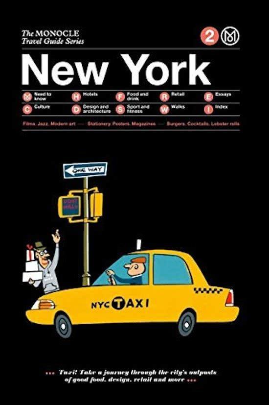 The Monocle Travel Guide to New York   reisgids 9783899555752  Gestalten   Reisgidsen New York, Pennsylvania, Washington DC