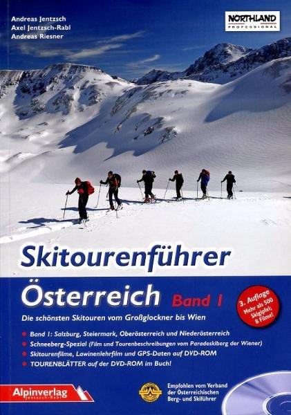 Skitourenführer Österreich, m. DVD-ROM 9783902656056  Alpin Verlag   Wintersport Oostenrijk