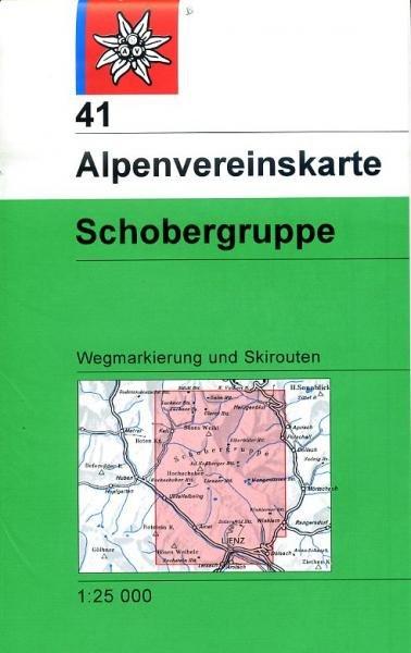 AV-41  Schobergruppe [2014] Alpenvereinskarte wandelkaart 9783928777124  AlpenVerein Alpenvereinskarten  Wandelkaarten Salzburg, Karinthë, Tauern, Stiermarken