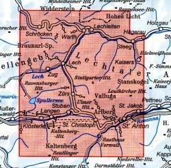 AV-03/2 Lechtaler Alpen Arlberggebiet [2011] Alpenvereinskarte wandelkaart 9783928777155  AlpenVerein Alpenvereinskarten  Wandelkaarten Tirol & Vorarlberg