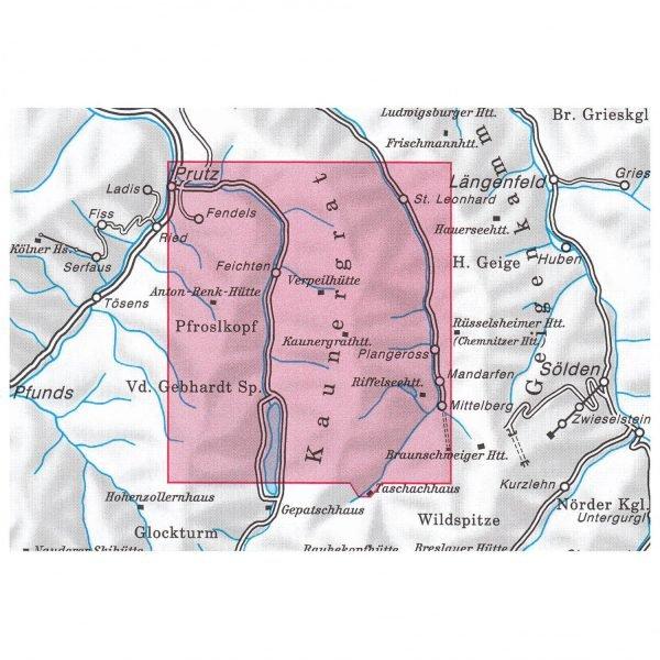 AV-30/3 Ötztaler Alpen/Kaunergrat [2014] Alpenvereinskarte wandelkaart 9783928777414  AlpenVerein Alpenvereinskarten  Wandelkaarten Tirol & Vorarlberg