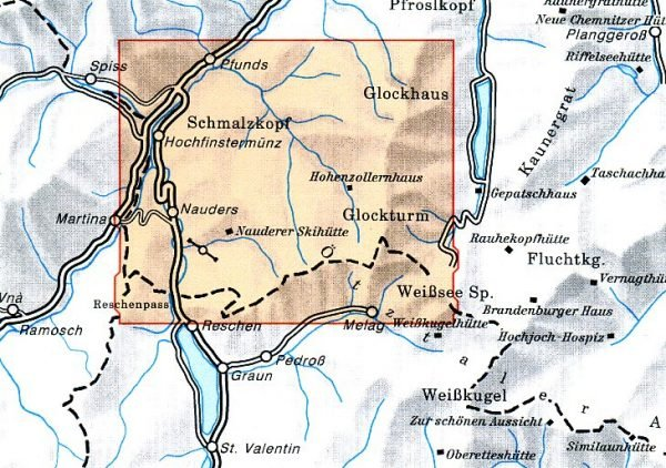 AV-30/4 Ötztaler Alpen/ Nauderer Berge [2008] Alpenvereinskarte wandelkaart 9783928777421  AlpenVerein Alpenvereinskarten  Wandelkaarten Tirol & Vorarlberg