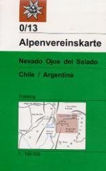 AV-0/13  Nevado Ojos del Salado [2004] Alpenvereinskarte wandelkaart 9783928777940  AlpenVerein Alpenvereinskarten  Wandelkaarten Chili, Argentinië, Patagonië