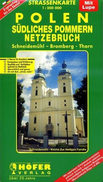 PL-004 Südliches Pommern, Netzebruch 9783931103170  Höfer Verlag   Landkaarten en wegenkaarten Polen