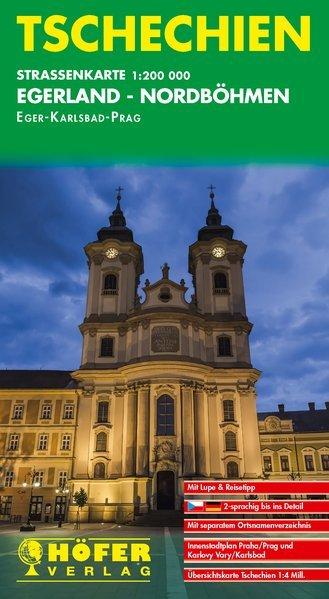 CS-001 Egerland, Nordböhmen 1:200.000 9783931103606  Höfer Verlag   Landkaarten en wegenkaarten Tsjechië