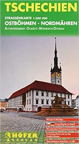 CS-003 Ostböhmen-Nordmähren 1:200.000 9783931103620  Höfer Verlag   Landkaarten en wegenkaarten Tsjechië