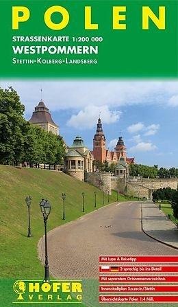 PL-001  Polen Westpommern 1:200.000 9783931103842  Höfer Verlag   Landkaarten en wegenkaarten Polen