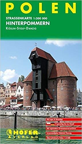 PL-003 Polen, Hinterpommern 1:200.000 9783931103866  Höfer Verlag   Landkaarten en wegenkaarten Polen