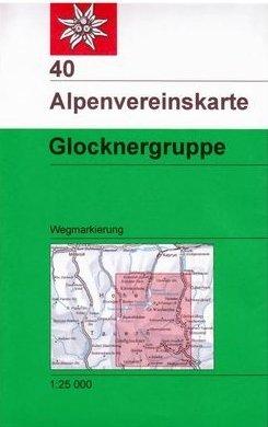 AV-40 Glocknergruppe [2017] Alpenvereinskarte wandelkaart 9783937530789  AlpenVerein Alpenvereinskarten  Wandelkaarten Salzburg, Karinthë, Tauern, Stiermarken