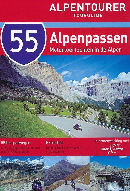 55 Alpenpassen 9783939997191  Motourmedia Alpentourer Tourguides  Motorsport, Reisgidsen Zwitserland en Oostenrijk (en Alpen als geheel)