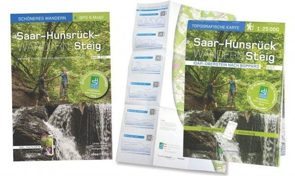 Saar-Hunsrück-Steig 9783942779333  Idee   Wandelgidsen, Wandelkaarten Eifel, Moezel, Rheinland-Pfalz