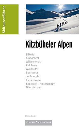 Skitourenführer Kitzbüheler Alpen 9783956110634  Panico Verlag Panico Skitourenführer  Wintersport Tirol & Vorarlberg