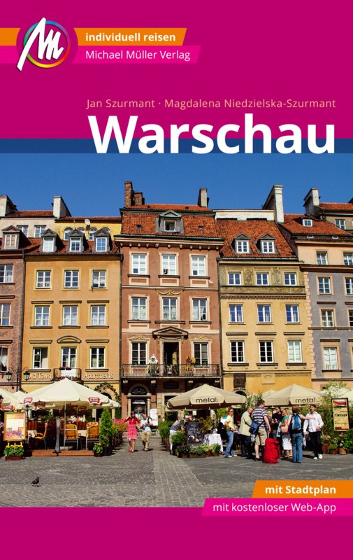 Warschau | reisgids 9783956544194  Michael Müller Verlag   Reisgidsen Polen