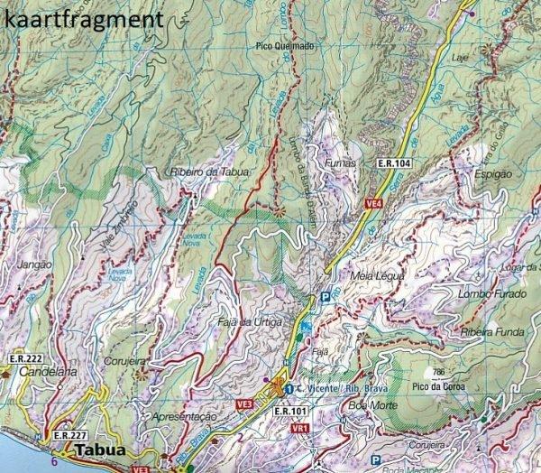 KP-234 Madeira   Kompass wandelkaart 9783990442685  Kompass Wandelkaarten   Wandelkaarten Madeira
