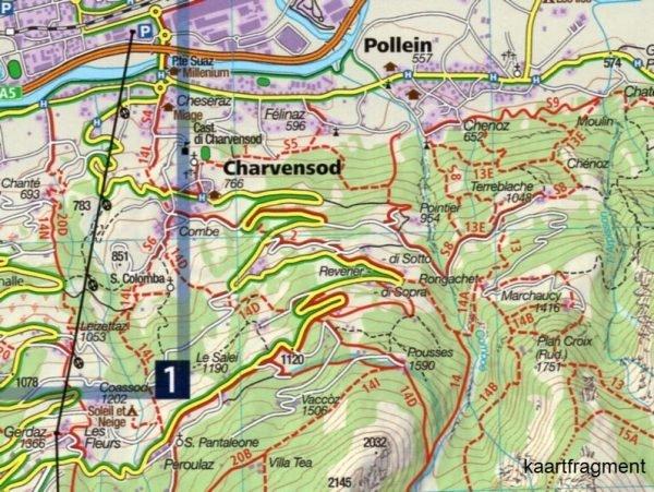 KP-86 Gran Paradiso, Valle d Aosta 1:50.000   Kompass 9783990443873  Kompass Wandelkaarten   Wandelkaarten Ligurië, Piemonte, Lombardije