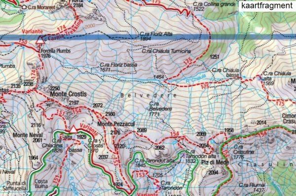 KP-60 Gailtaler Alpen-Karnische Alpen 1:50.000 | Kompass wandelkaart 9783990444085  Kompass Wandelkaarten Kompass Oostenrijk  Wandelkaarten Salzburg, Karinthië, Tauern, Stiermarken