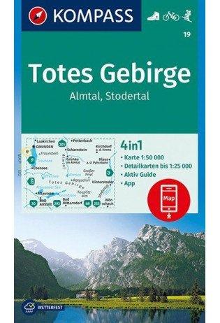 KP-19 Almtal-Steyrtal-Kremstal   Kompass wandelkaart 9783990444429  Kompass Wandelkaarten Kompass Oostenrijk  Wandelkaarten Salzburg, Karinthië, Tauern, Stiermarken