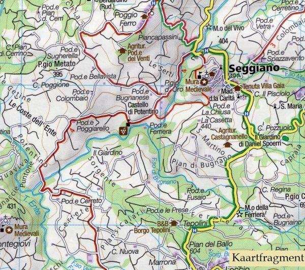 KP-2463 Lago Trasimeno/Val di Chiana/Chianciano Terme 1:50.000 | Kompass wandelkaart 9783990446164  Kompass Wandelkaarten Kompass Italië  Wandelkaarten Toscane, Florence, Umbrië