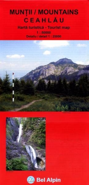 Ceahlau Mountains | wandelkaart 1:50.000 9786069214350  Bel Alpin   Wandelkaarten Roemenië, Moldavië
