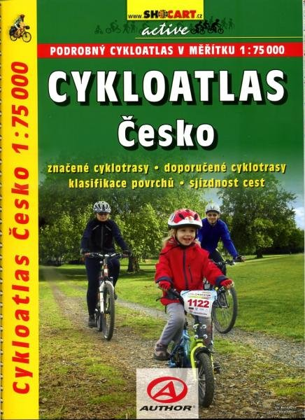 Cykloatlas Cesko 1/75.000 FietsatlasTsjechië 9788072246267  SHOCart   Fietsgidsen, Meerdaagse fietsvakanties Tsjechië